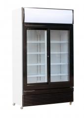 Lasiovinen jääkaappi CS 750L, liukuovet