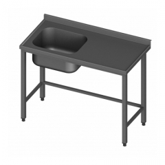 Allaspöytä yksialtainen S600/20