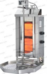 Kebab-grilli Potis GD2S, kaasu