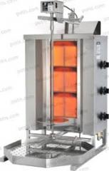 Kebab-grilli Potis GD3S, kaasu