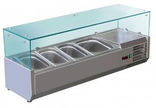 Kylmäallas lasilla Maxima C120