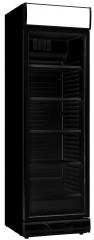 Lasiovinen jääkaappi CS382-B, musta