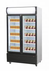 Pakaste/jääkaappi 2 lasiovella CS 950L